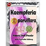400 Caps Premium Kaempferia Parviflora Grown in Thailand Natural Herbal Powder 500mg Vegetarian Capsules By Hida Beauty