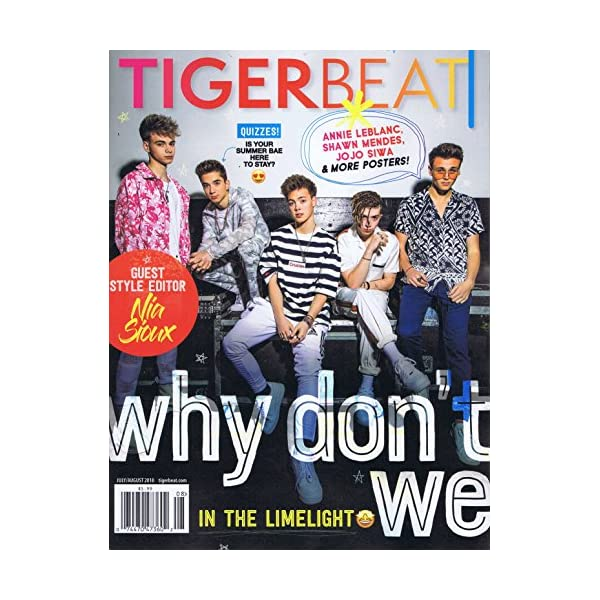 Tiger Beat [US] July - A...の商品画像