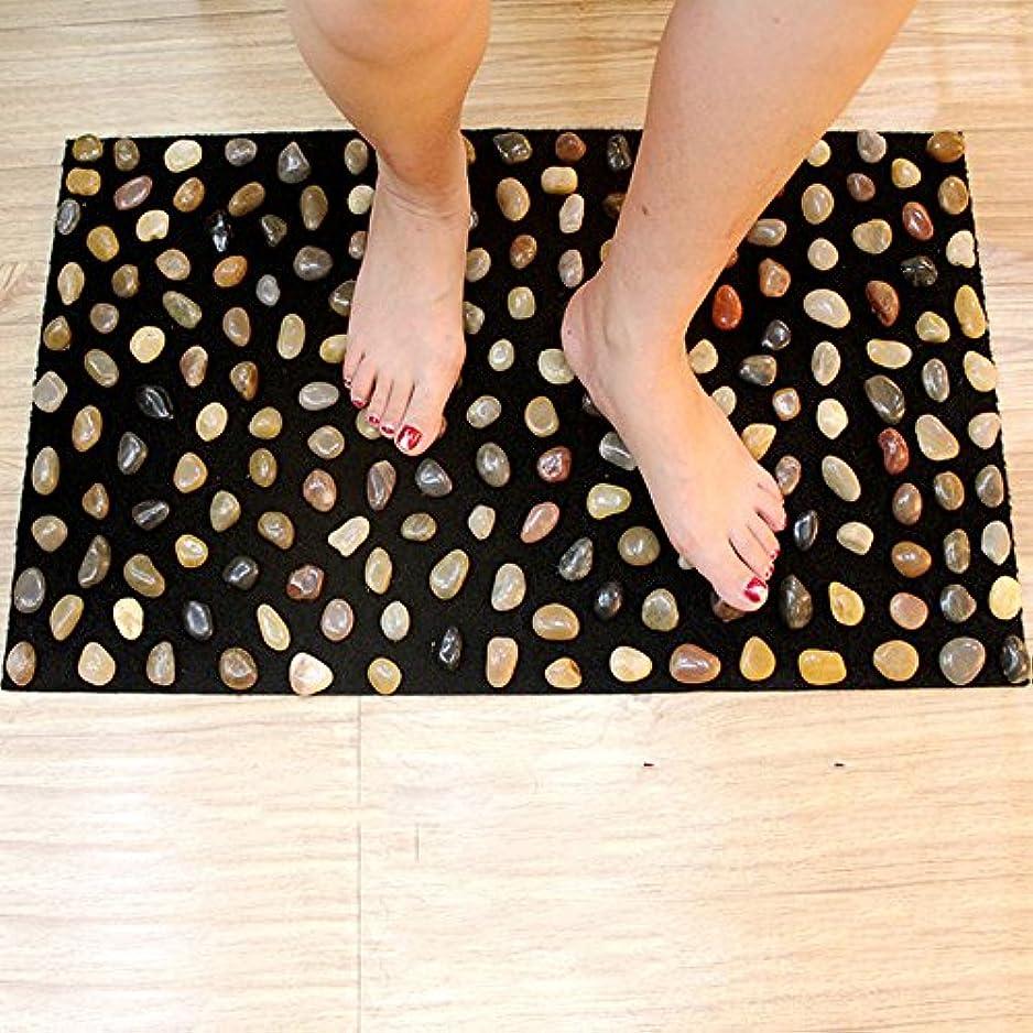 粘り強いチラチラするキュービック足つぼ マット マッサージシート マッサージ 足裏 健康 ツボ刺激 折りたたみ ウォーキングマット 足裏マット 本物の健康 フットマッサージ 足のマッサージパッド 模造石畳の歩道