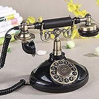 有線電話- ヨーロッパのアンティーク固定電話レトロ装飾クラシックアンティークファッションクリエイティブホームの固定電話