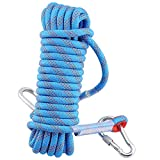 Syiswei プロフェッショナルアウトドアロッククライミング安全ロープ、直径12mm