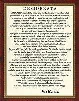 Motivational Poster Desiderata Poem by Max Ehrmann署名コレクション11x 14アーカイブアートカードクラシックデザイン