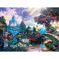 Thomas Kinkade The Disney Dreams Collection: Cinderella Wishes Upon a Dream Puzzle 750 pc [並行輸入品]
