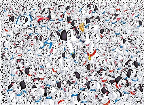 1000ピース ディズニー 101匹わんちゃん ダルメシアン ジグソーパズル (69cm×50cm) The Hundred and One Dalmatians Disney 並行輸入品