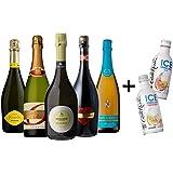 ワインセット スパークリング ワイン 甘口スパークリングワイン5本セット 飲み比べ 詰め合わせ (Amazon出荷)