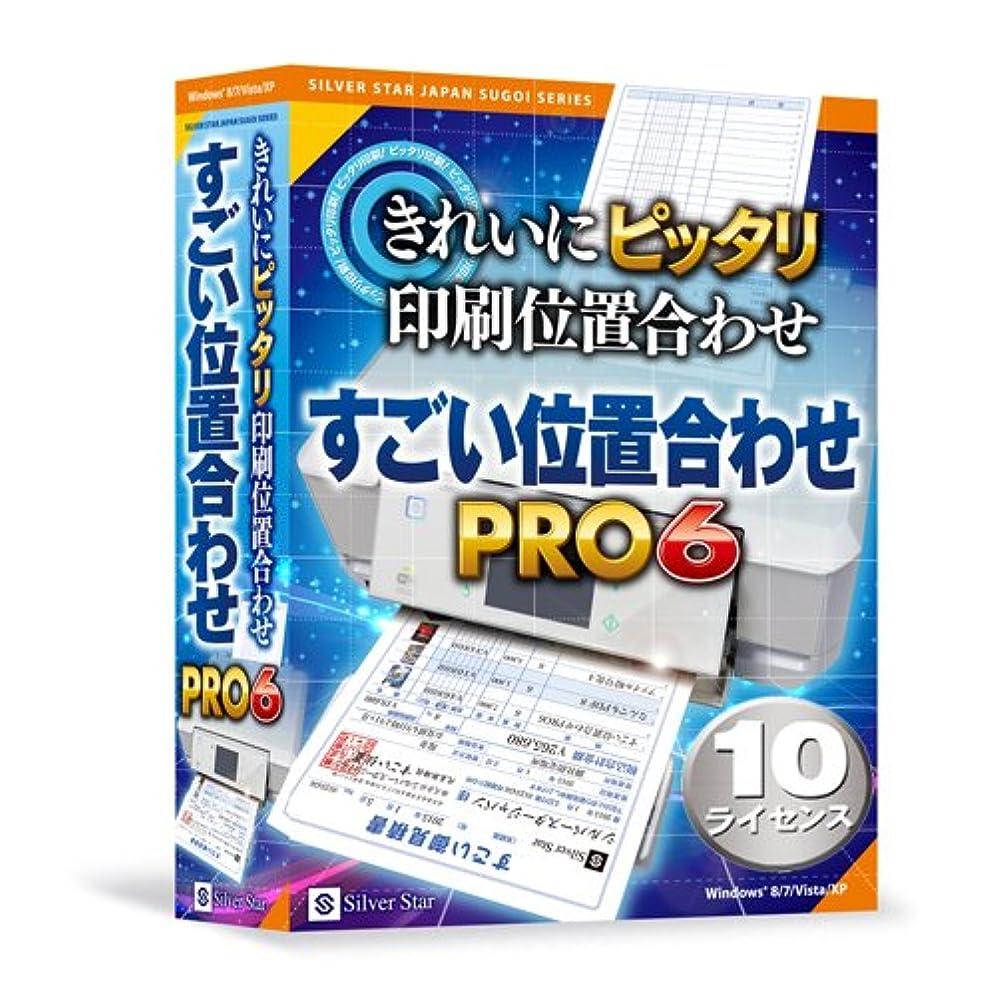 しなければならない子音倒産シルバースタージャパン すごい位置合わせPRO6 10ライセンスパック