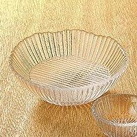 竹物語り 陶雅 ガラス氷光刺身鉢 14.5×5.6㎝