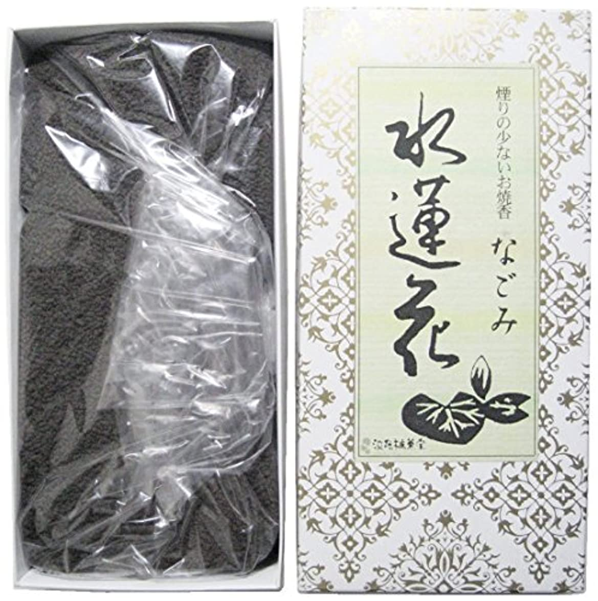 買う排泄物矢淡路梅薫堂の煙の少ないお焼香 なごみ 水蓮花 500g #931 お焼香用 けむりの少ないお香