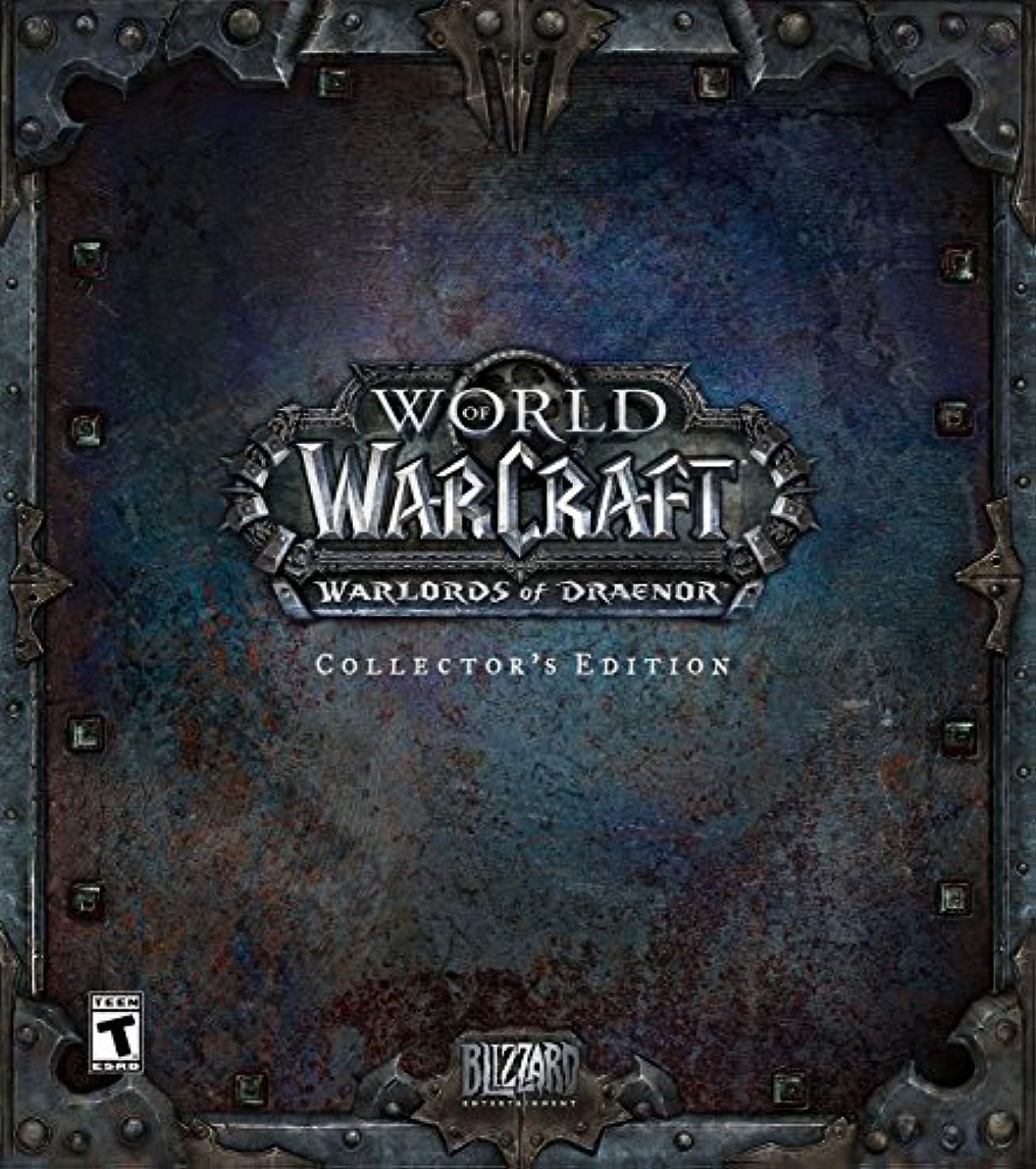 校長アスレチック非常にWorld of Warcraft: Warlords of Draenor Collector's Edition(輸入版:北米)