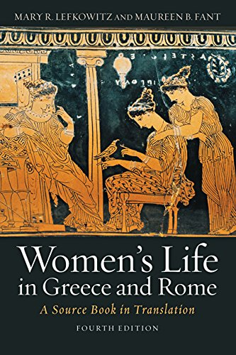 Download Women's Life in Greece and Rome: A Source Book in Translation 1421421135