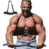 Jayefo Sport Arm Blaster for Curl Bar Arm Biceps Triceps Dumbbells & Barbells Bicep Isolator Strength Curling Muscle Gains Pr