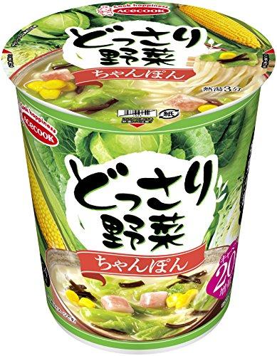 エースコック どっさり野菜 ちゃんぽん 61g×12個
