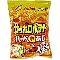 カルビー サッポロポテト BBQ 24g (24個入)