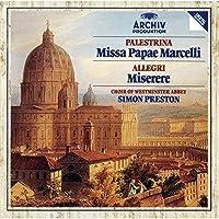 パレストリーナ:教皇マルチェルスのミサ曲