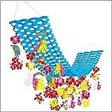 夏装飾 ハワイアントロピカルプリーツハンガー L180cm/ディスプレイ?装飾?飾り付け  22285