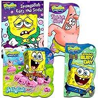 SpongeBob SquarePants Shaped Board Books (Set of 4) by Nickelodeon