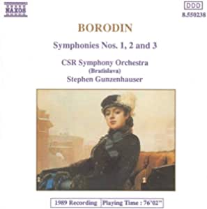 Borodin:Symphonies Nos.1