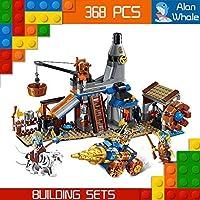 alanwhale中世ライオンRoyal Knights Dwarf Blacksmith人間vs Night Elf Enlighten建物キット2314( 368Piece )
