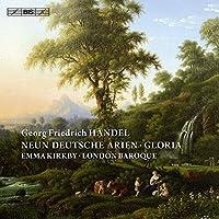 ヘンデル:9つのドイツ語のアリア 他 (Handel : Neun Deutsche Arien / Emma Kirkby , London Baroque)