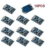 KKHMF 10PCS 5V 1A 18650 リチウムバッテリー チャージボード Micro USB チャージモジュール プロテクト