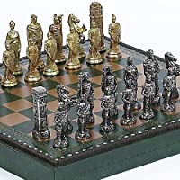 Lorenzini Chessmen & Marcello Chess Board/Box from Italy by