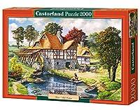 2000 Piece Castorland Jigsaw Water Mill Cottage