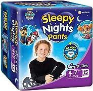 BabyLove SleepyNights 4 - 7 yrs 18-35kg (15 pack x 4)