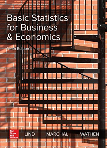 Download Loose Leaf for Basic Statistics for Business & Economics 1260299279