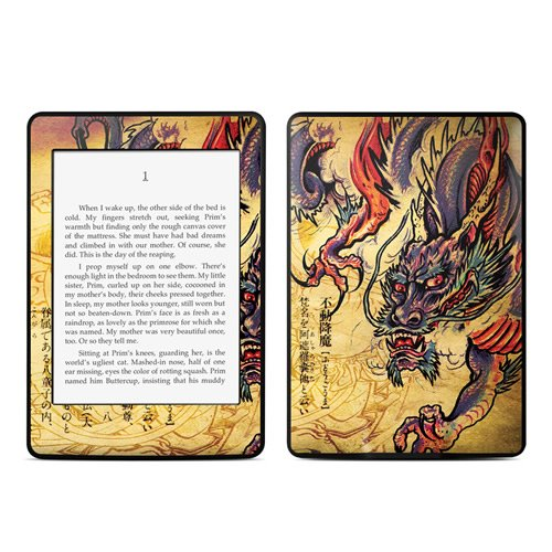 【Kindle Paperwhite スキンシール】 DecalGirl - Dragon Legend