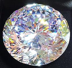 132カット 50mm 3個セット AAAAAキュービックジルコニア 4月誕生石 ルース裸石 50ミリ