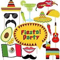 Cinco de Mayo写真ブース小道具–33ctメキシコフィエスタ/誕生日パーティーSupplies Decorations
