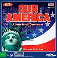 Ideal Our America Board Game [並行輸入品]
