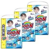 【ケース販売】グーン(GOO.N) やわらかパンツ Lサイズ (9~14kg) 174枚(58枚入×3パック) 男の子