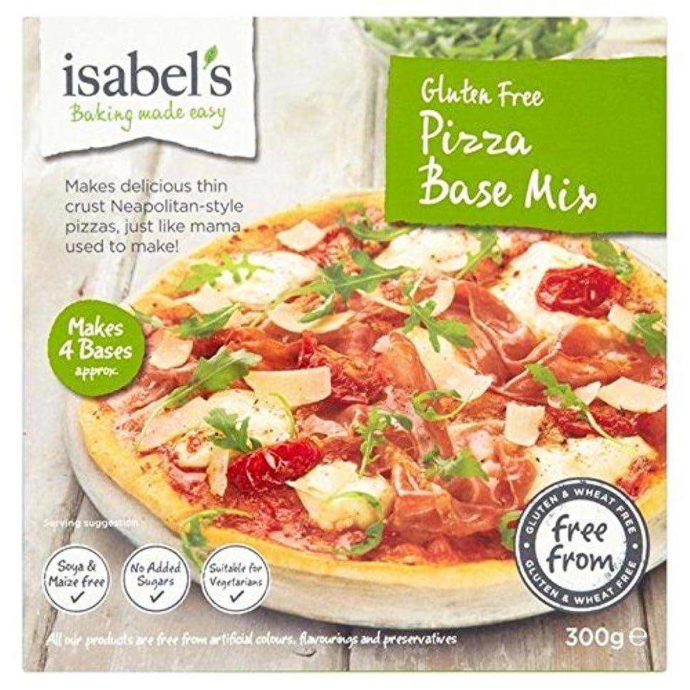 剣としていたずらなイザベルのグルテンフリーのピザ?ベース?ミックス300グラム - Isabel's Gluten Free Pizza Base Mix 300g [並行輸入品]