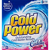 Cold Power Powder 2 in 1, Laundry Detergent, with Fabric Softener