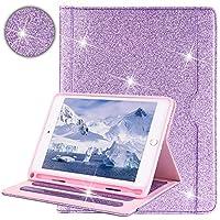 "Billionn JP 新しいiPad Mini 5 7.9"" 2019 ケース 自動ウェイク/スリープ のために適した バーサルl Apple iPad Mini 5/4/3/2/1(キラキラパープル)"