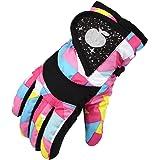 Kids Ski Gloves,Waterproof Warmest & Breathable Winter Snow Mittens for Boys,Toddler, Girls, Lightweight & Anti-Slip Insulate