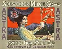 Astraヴィンテージポスター(アーティスト:匿名)スイスC。1900 24 x 36 Giclee Print LANT-73851-24x36