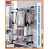 RC-Global C-46 BK Clothes rack/Clothes Horse/Clothes Hanger/Clothes drying rack/Clothes dryer/Clothes hanging Stand/Clothes h