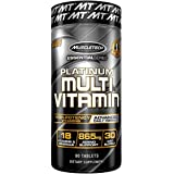 MuscleTech Advanced Daily Multivitamin for Men & Women, Includes Amino Acids, 18 Vitamins & Minerals (100% Daily Vitamins A,