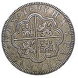 スペイン ヒスパニア銀貨 1683年 レプリカ