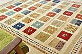 ギャベ ラグ ギャッベ 絨毯 19452 ウィルトン織 ラグ 3畳 160x230cm