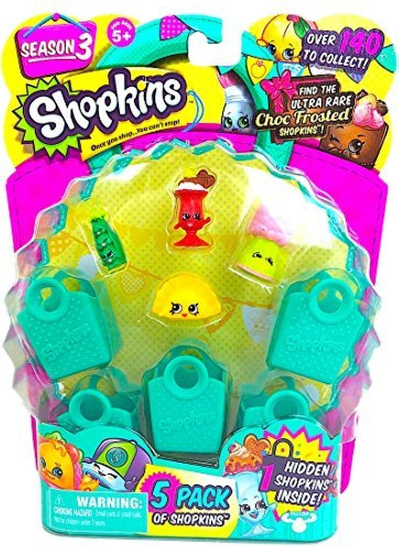 Shopkins Season 3 (5 Pack) Set 31 by Moose Toys [並行輸入品]