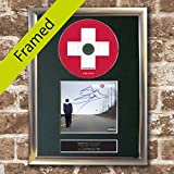 EMINEM Recovery Album Signed CD COVER SILVER FRAMED A4 Reproduction Autograph Print