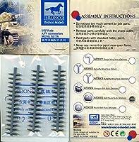 ブロンコ1: 35半円ナット(複数サイズ)射出プラスチック詳細# ab3505