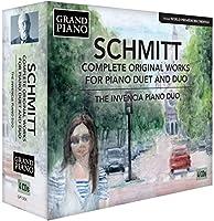 フローラン・シュミット:2台ピアノとピアノ・デュオのためのオリジナル作品全集