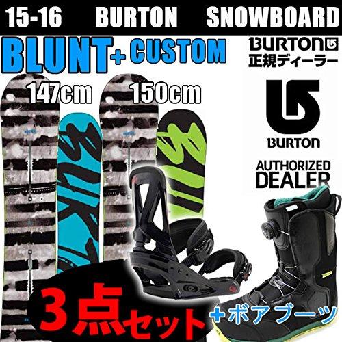 BURTON スノーボード3点セット バートン 15-16 ...