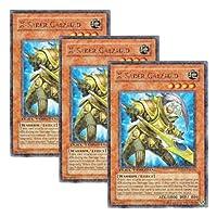 3枚 遊戯王 英語版 DT01-EN074 X-Saber Galahad X-セイバー ガラハド (レア・パラレル)