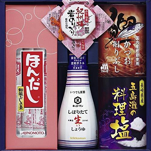 food(フード) 味の素ほんだし&キッコーマンギフト(N180-03)