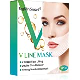 V Line Mask,Double Chin Reducer,Chin Up Patch,Face Lift V Lifting Chin Up Patch V Shape Face Lifting V Zone Mask Tape Firming